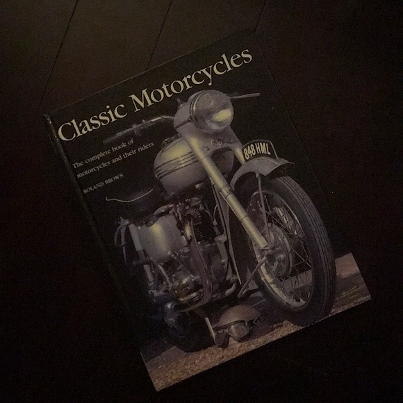 Classic Motorcycle book by Roland